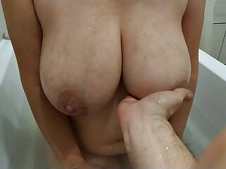 Big Inept Tits Of A Young Mom