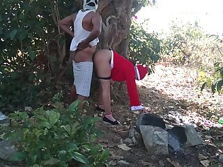Bonking Hot Aunt Outdoor First Time Christmas Santa Claus